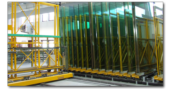 MOVETRO Automatic Shuttle Storage Systems For Glass Sheets