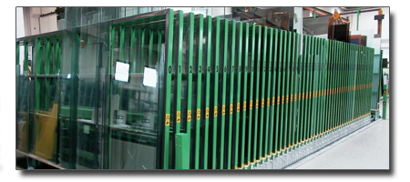 classifier for glass sheets